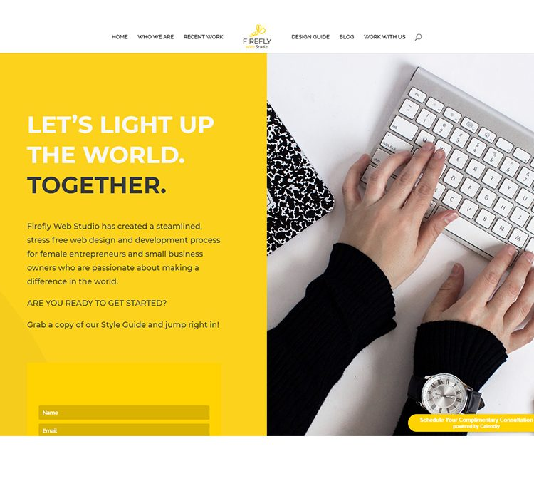 Firefly Web Studio | WordPress Divi Website