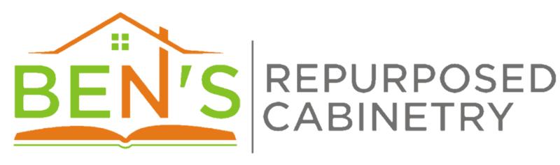 web design for bens repurposed cabinetry