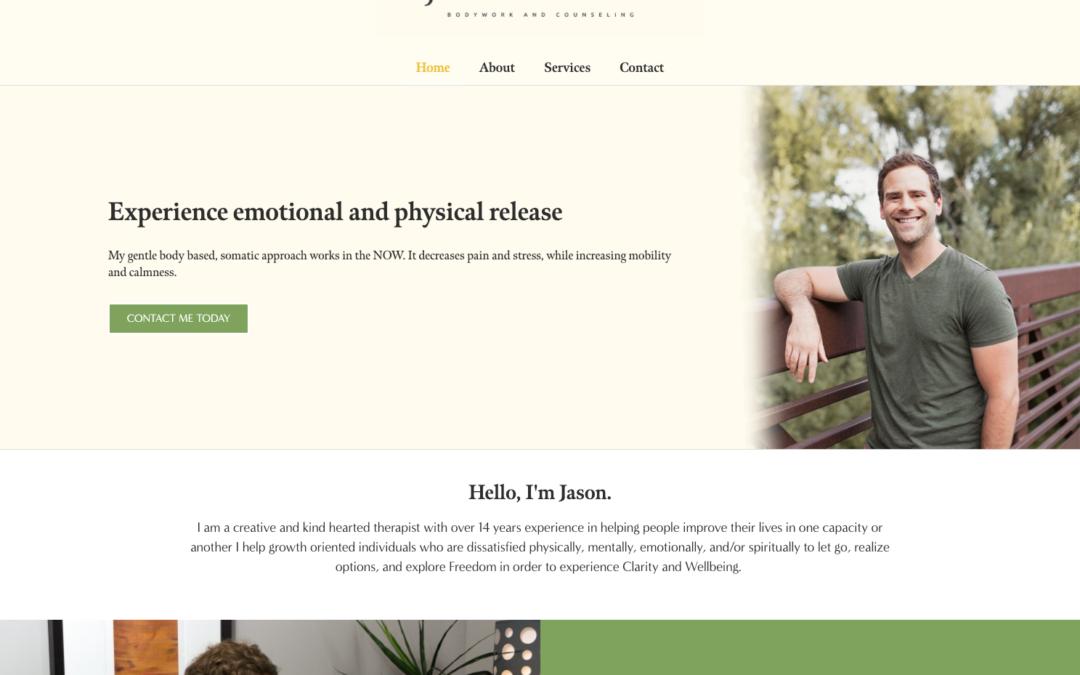 Jason Gallaher | Custom Bodywork Website