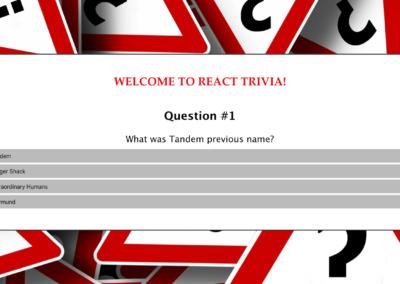 React Trivia Quiz